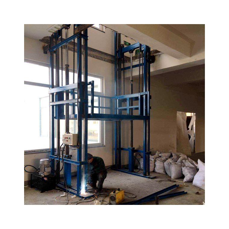 無錫鏈條導軌式升降貨梯