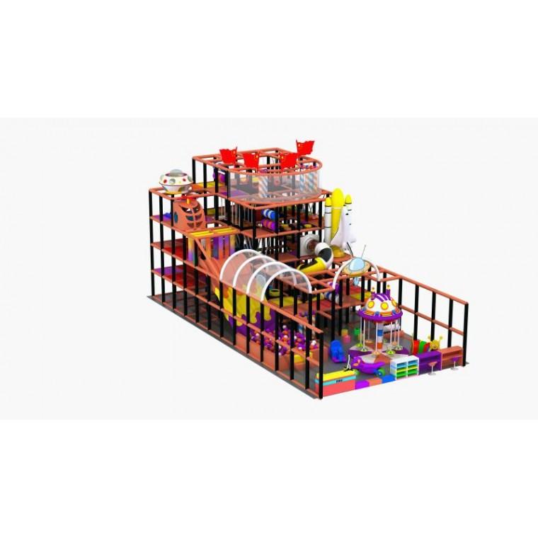 小型游乐园淘气堡儿童乐园家用室内设备游乐场设施滑
