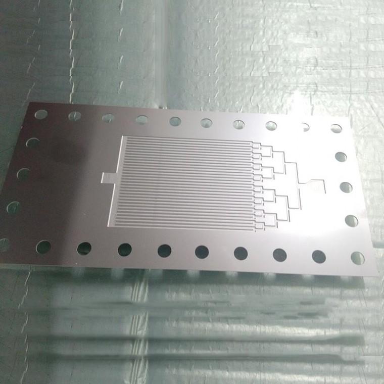 供應深圳微通道冷板微通道換熱器蝕刻微通道冷板焊接