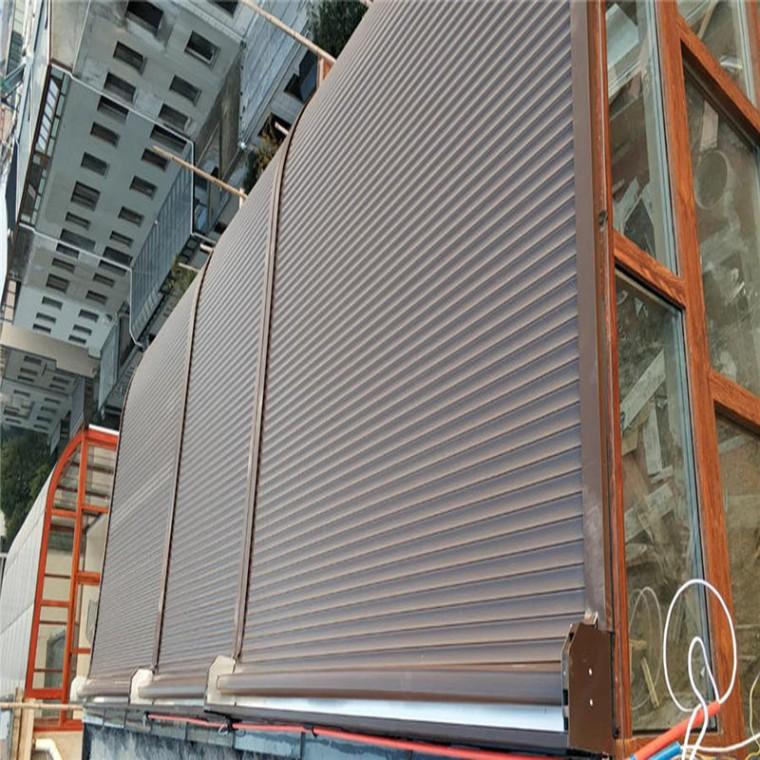 鋁合金卷簾天幕簾系統