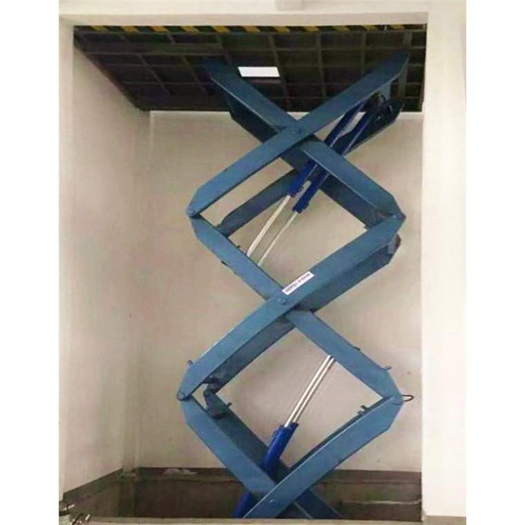 剪叉式升降臺