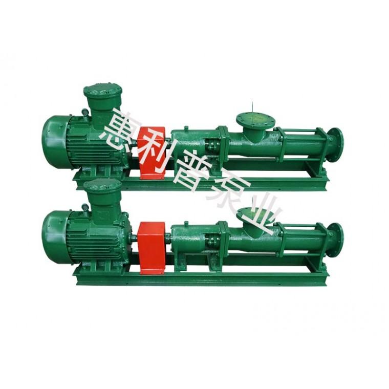 G型單螺桿泵 惠利普泵業