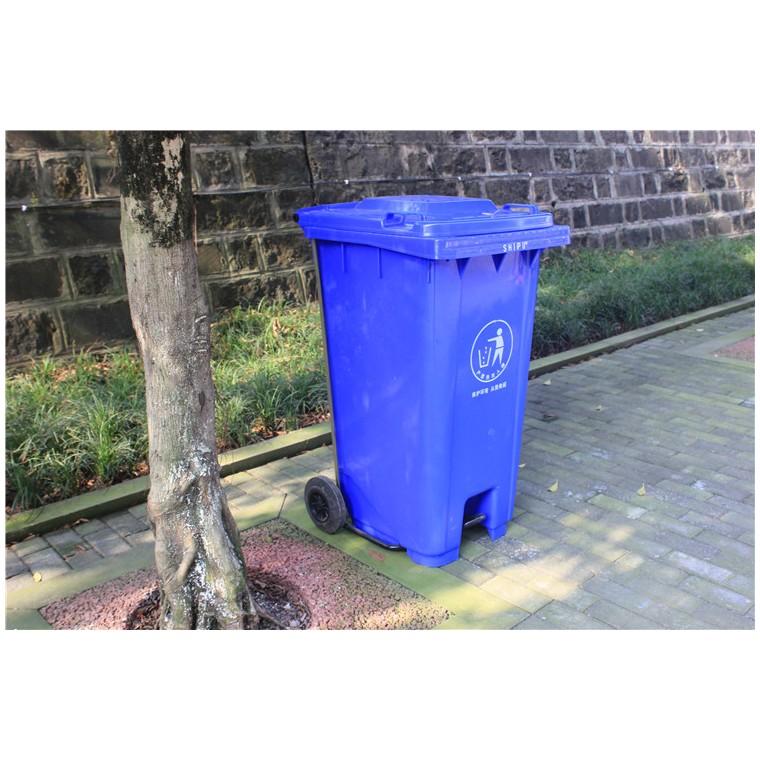 重慶綦江環保分類垃圾桶塑料分類垃圾桶特價批發