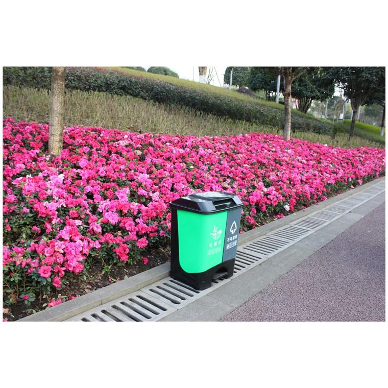 重慶綦江室外塑料垃圾桶塑料分類垃圾桶