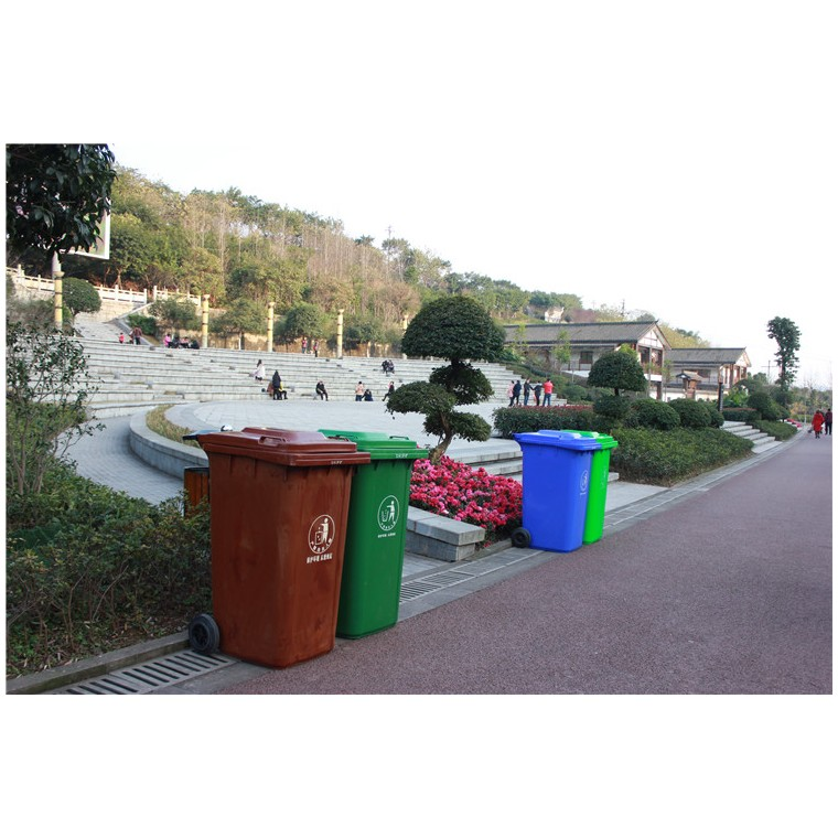 重慶巴南塑料垃圾桶塑料分類垃圾桶優質服務