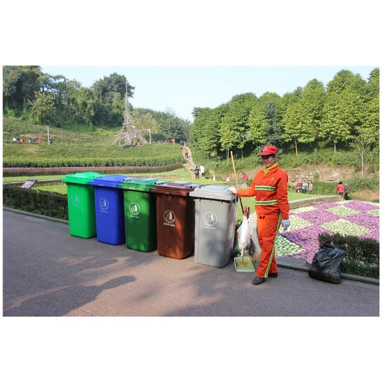 重庆渝北环保分类垃圾桶塑料分类垃圾桶优质服务