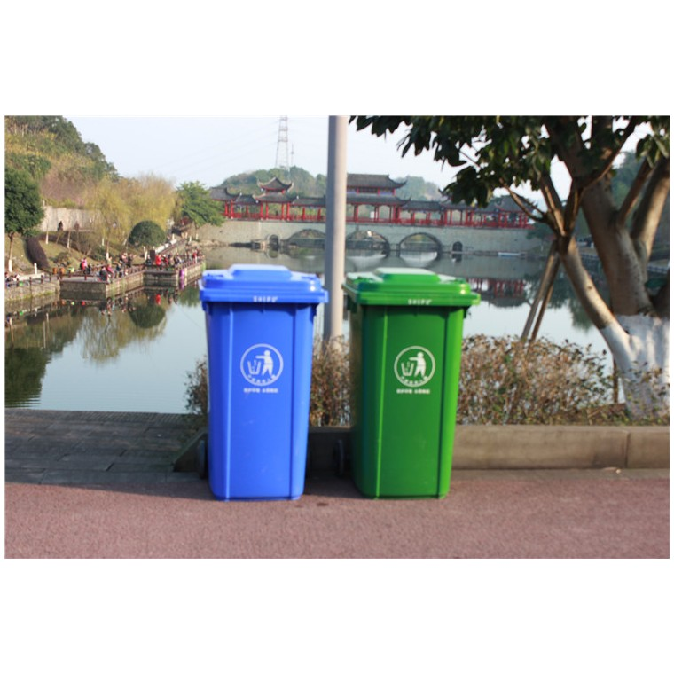 重慶合川環保分類垃圾桶塑料分類垃圾桶廠家直銷