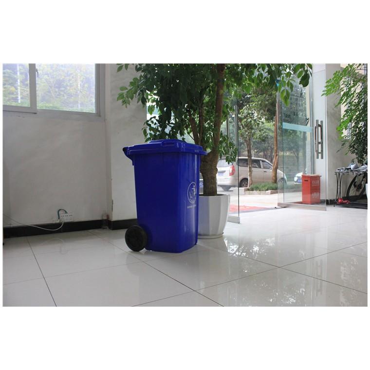 重慶萬盛塑料垃圾桶塑料分類垃圾桶特價批發