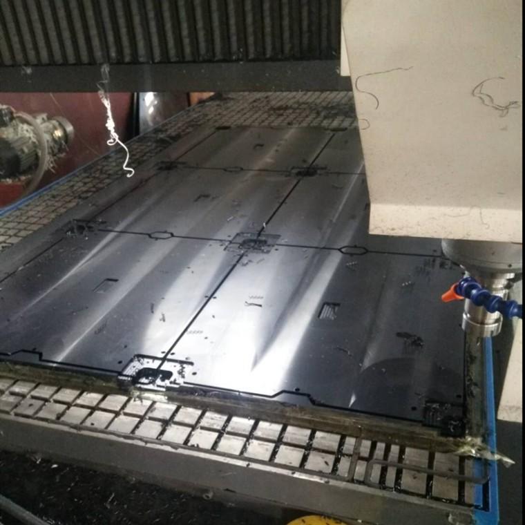 深圳供应 防静电PE板 超高分子量聚乙烯绝缘板 支持定做