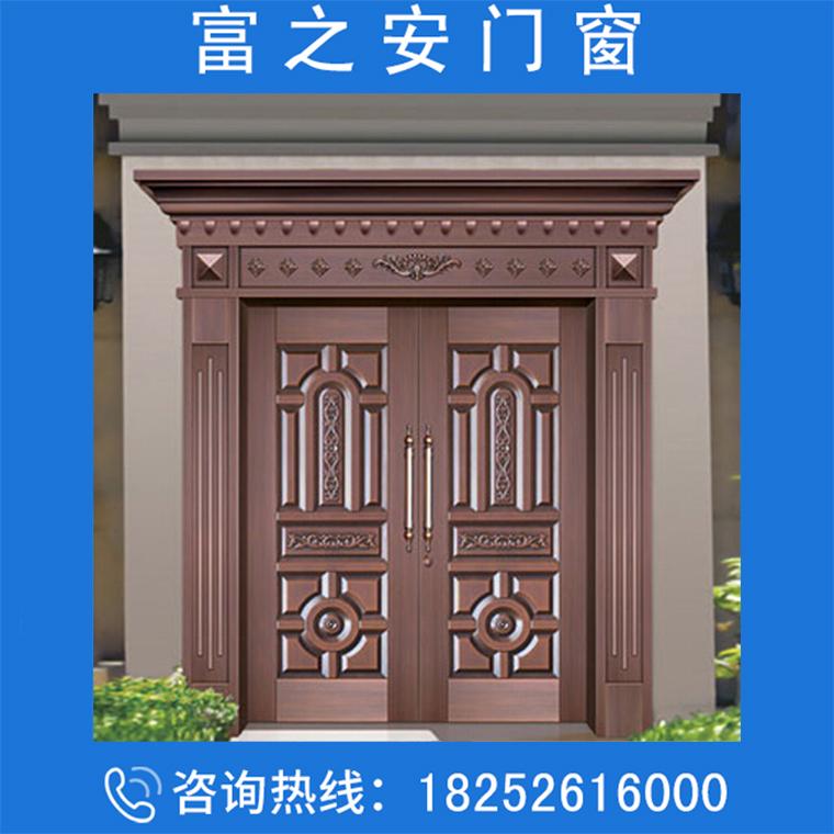 雙開門銅門