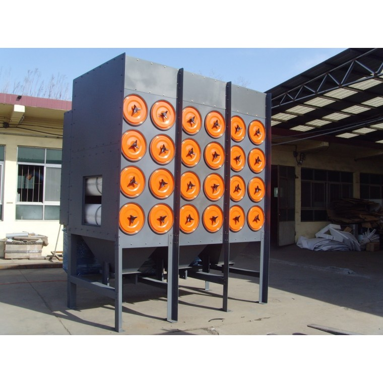 山東亮光定制除塵器  脈沖濾筒除塵設備 環保涂裝除塵器