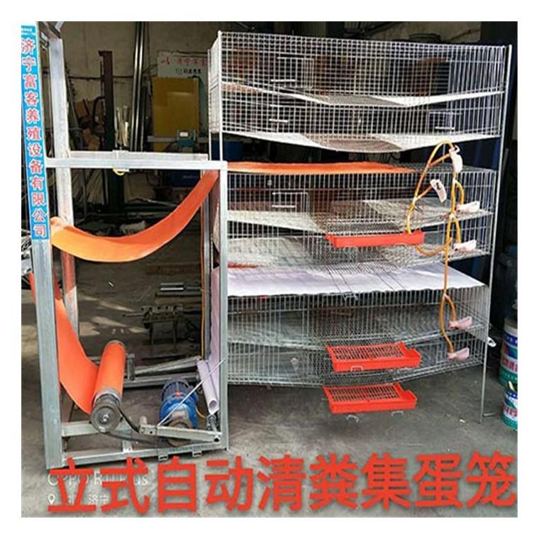 新型立式鵪鶉養殖籠具價格