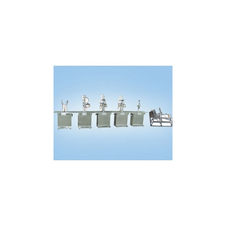 QGB型半自動聚氨脂泡沫填縫劑氣霧劑灌裝機