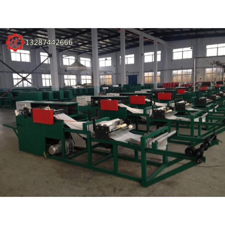 芒果袋機全自動生產芒果套袋的機器在貴州廣西等地推廣使用