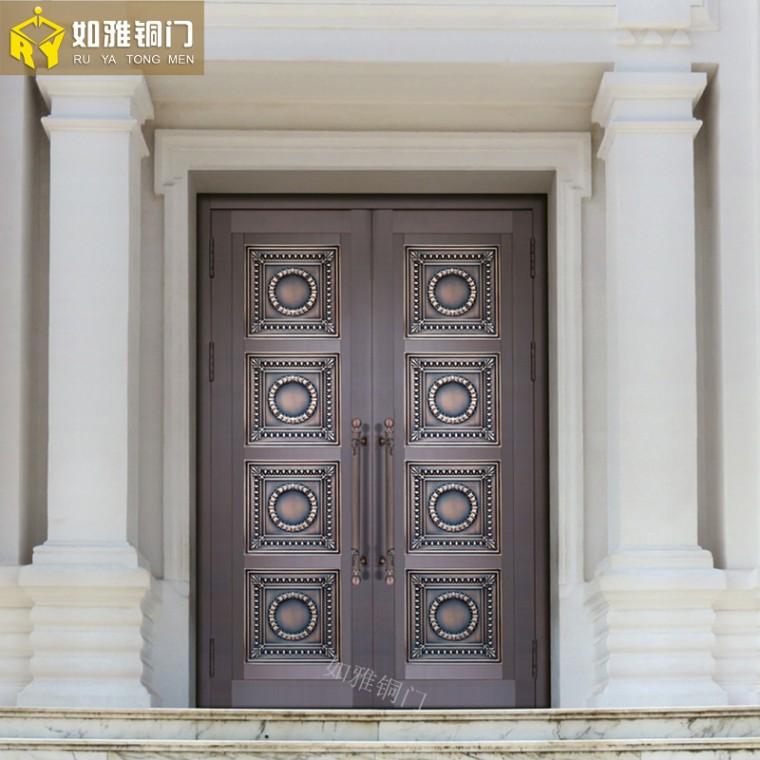 上海子母銅門直銷子母銅門定制上海銅門窗加工銷售
