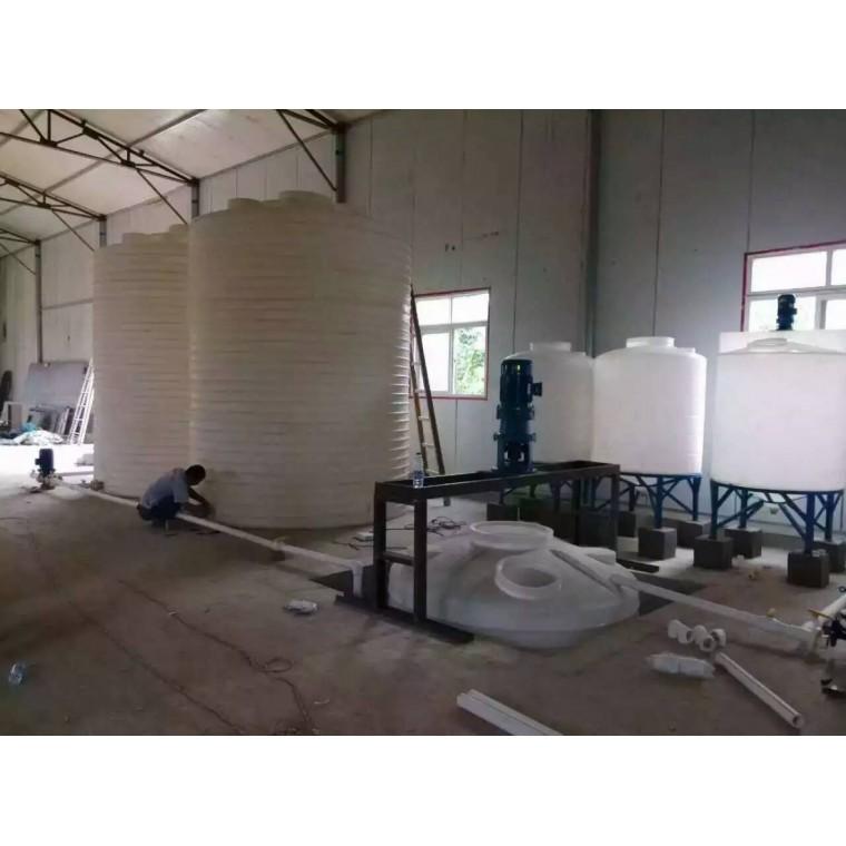 陜西省西安市 化工防腐塑料儲罐羧酸復配罐廠家直銷