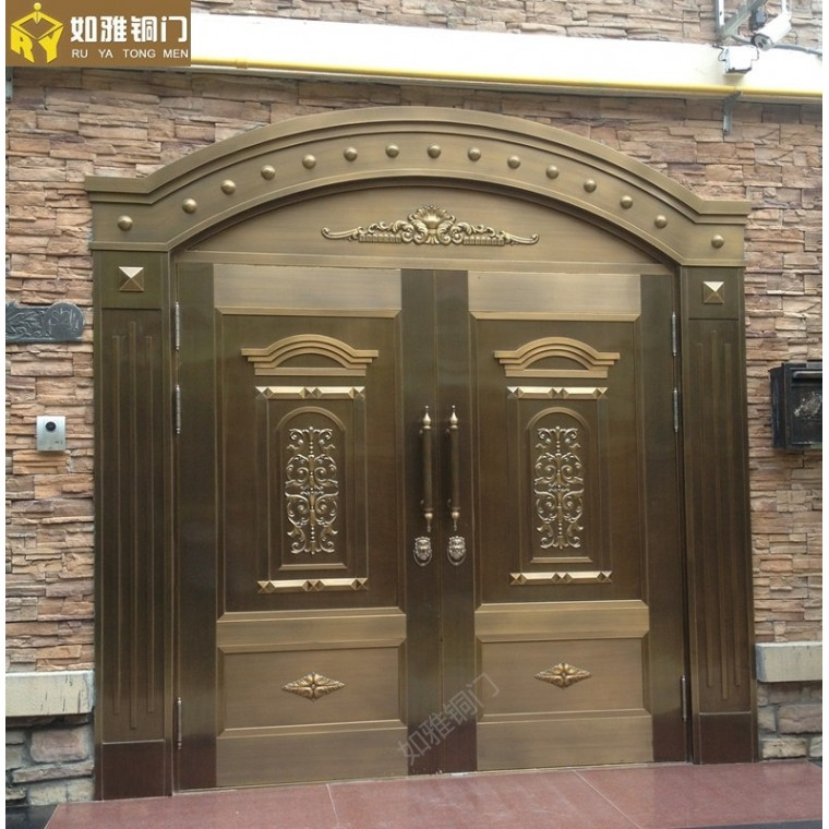 上海店面商鋪銅門,公寓別墅銅門經銷商,上海銅門訂做