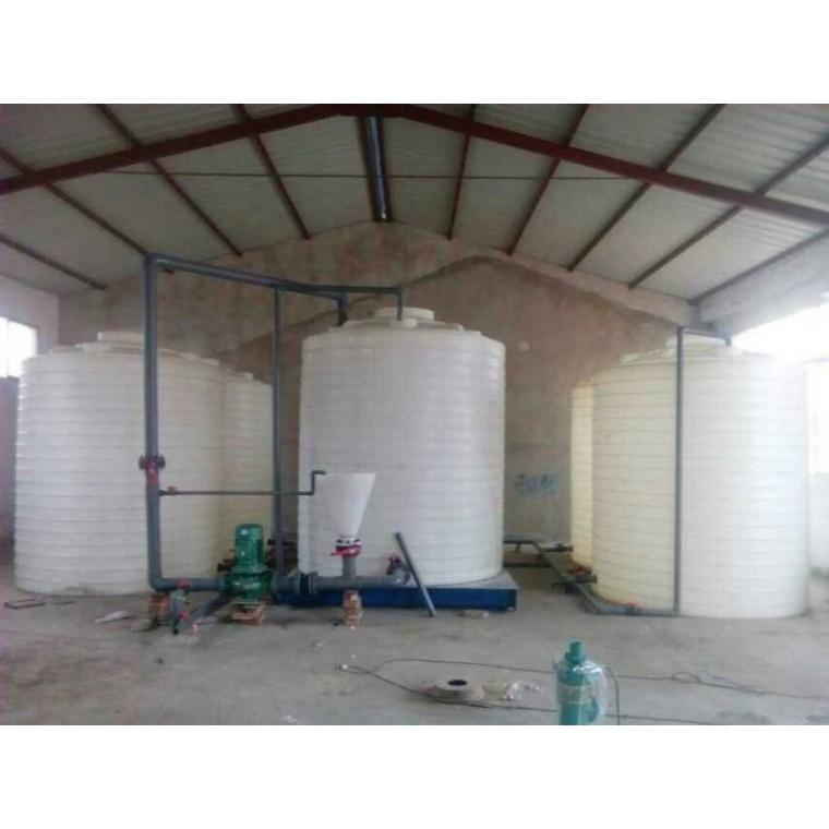陜西省渭南 鹽酸塑料儲罐外加劑塑料儲罐行業領先