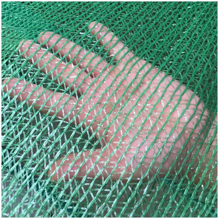 3针盖土网 工地防尘网 聚乙烯编织绿网