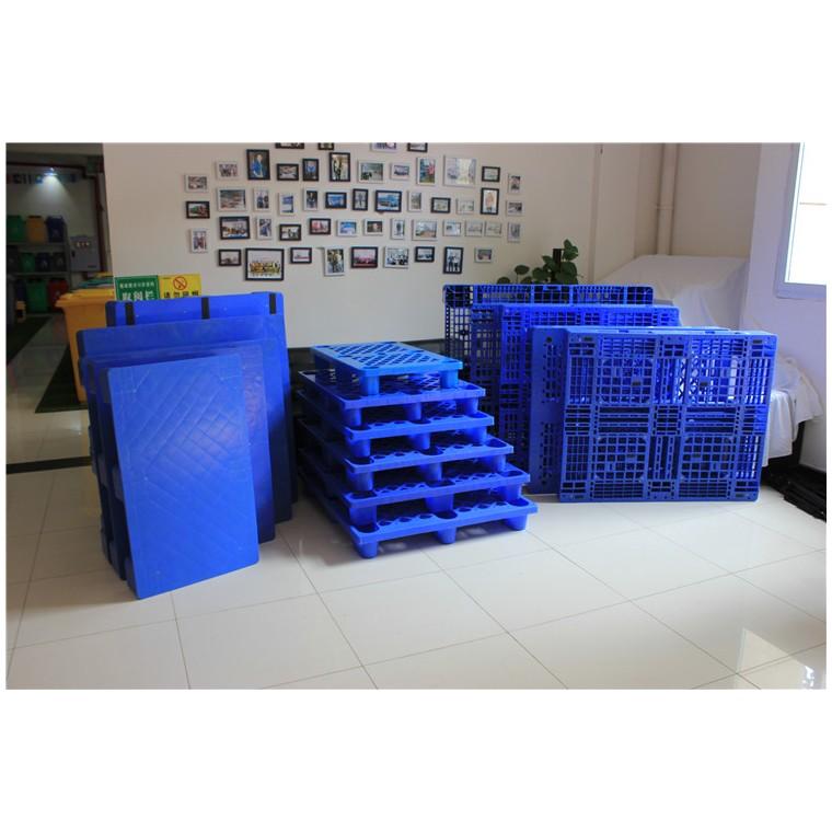 陜西省榆林市 九腳平面塑料托盤川字塑料托盤價格實惠