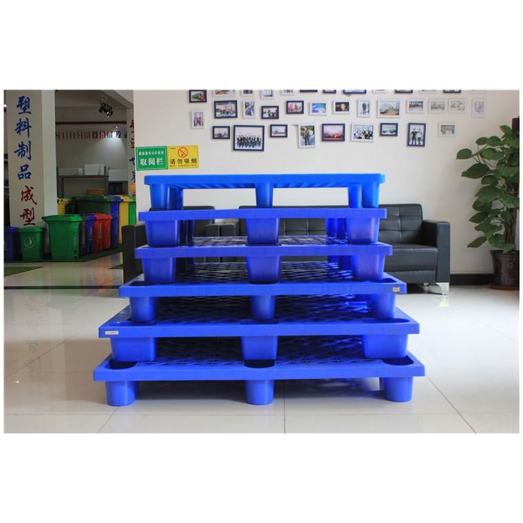 陜西省銅川市 九腳平面塑料托盤川字塑料托盤優質服務