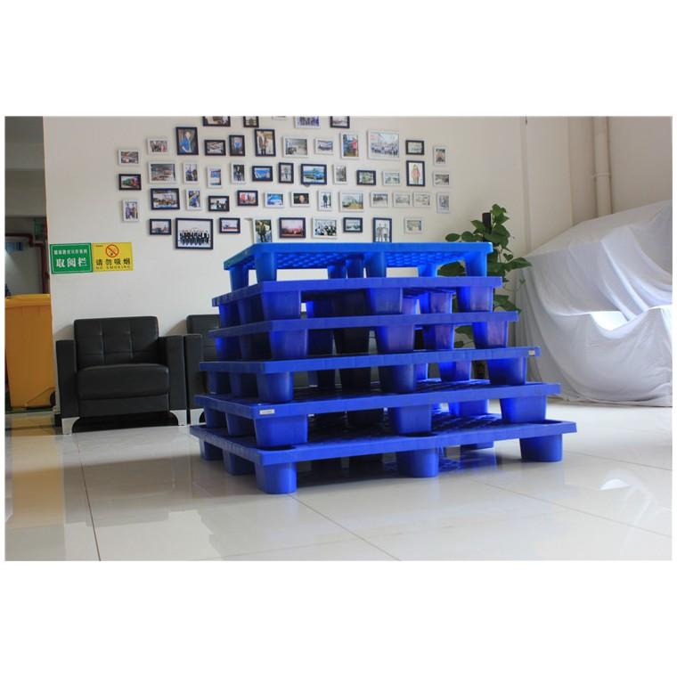 陕西省西安市 九脚网轻塑料托盘川字塑料托盘优质服务
