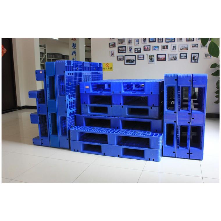 陜西省咸陽市 九腳平面塑料托盤雙面塑料托盤優質服務