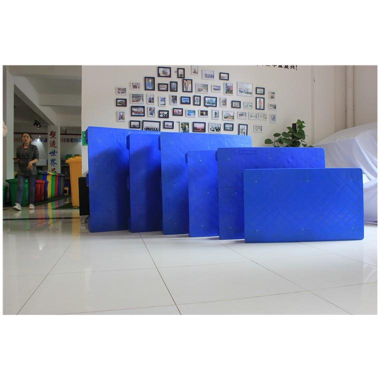 陜西省韓城市九腳平面塑料托盤雙面塑料托盤哪家比較好