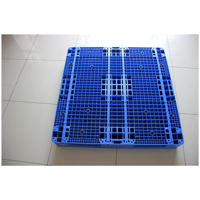 陜西省寶雞市 九腳平面塑料托盤田字塑料托盤量大從優