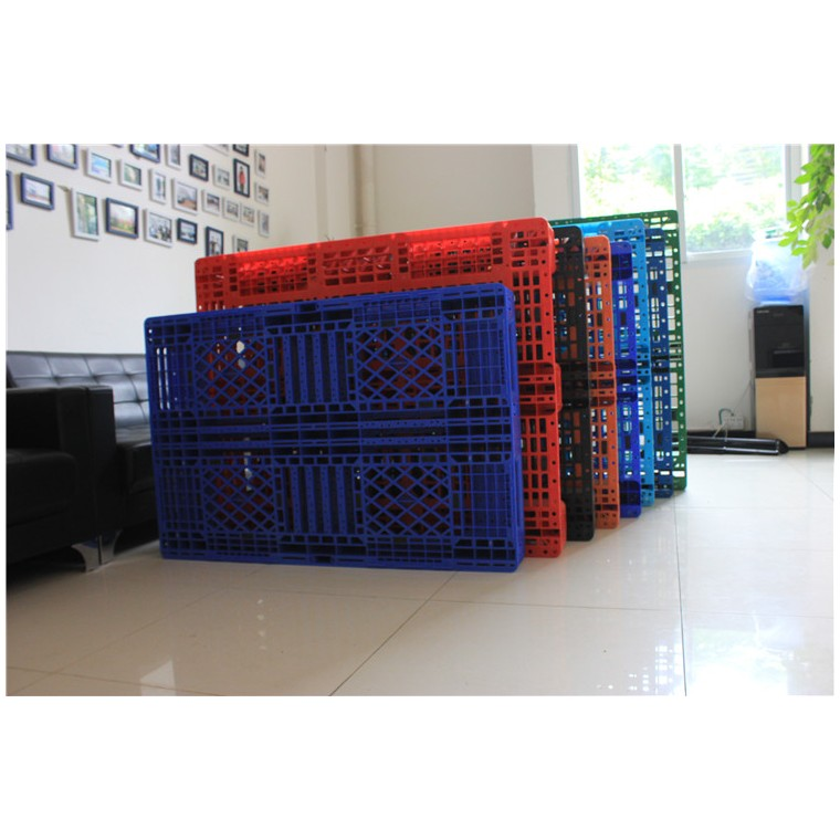 陜西省銅川市 九腳平面塑料托盤川字塑料托盤性價比