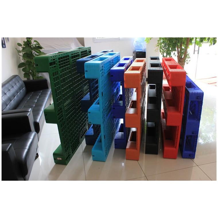 陕西省榆林市 九脚平面塑料托盘田字塑料托盘行业领先