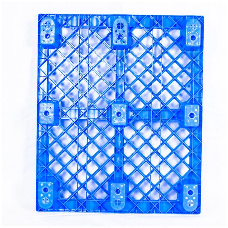 陕西省榆林市 九脚平面塑料托盘川字塑料托盘厂家直销