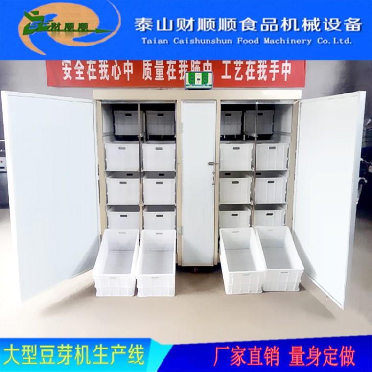 遂寧全自動豆芽機生產廠家 省水省電省人工 財順順豆芽機