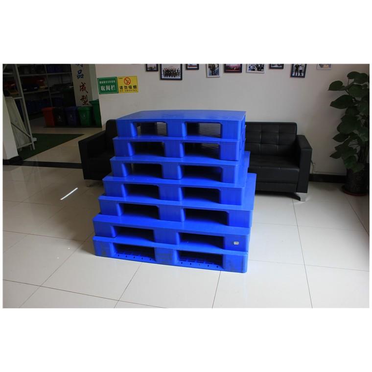 四川省资阳九脚网轻塑料托盘双面塑料托盘信誉保证