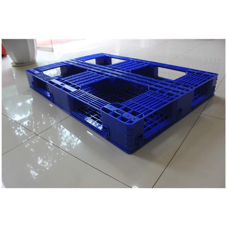 四川省宜賓1210九腳塑料托盤雙面塑料托盤價格實惠