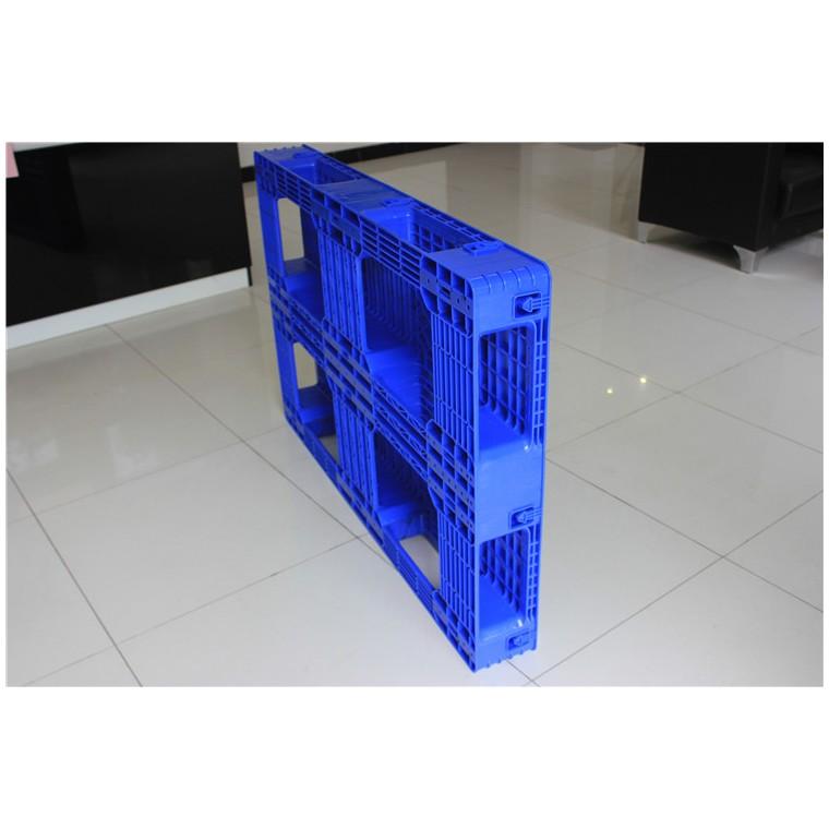 四川省內江1210九腳塑料托盤雙面塑料托盤行業領先