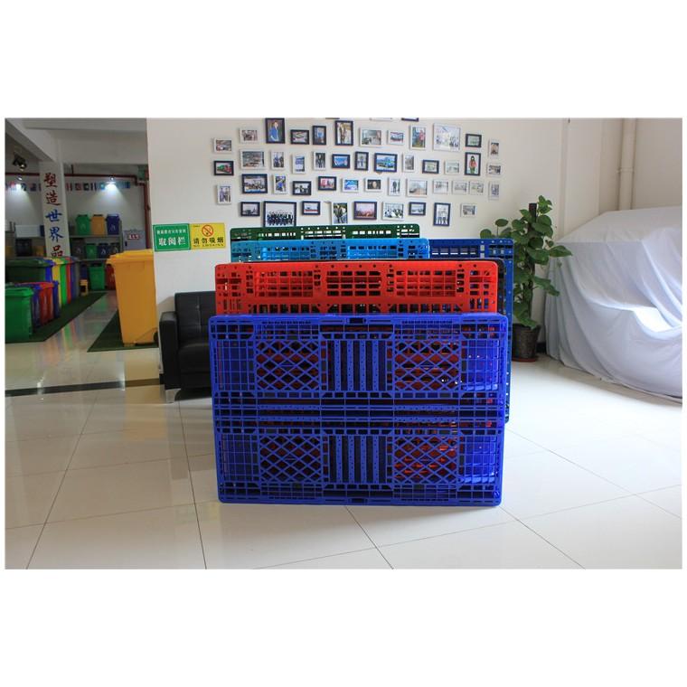 四川省南充九腳網輕塑料托盤川字塑料托盤量大從優