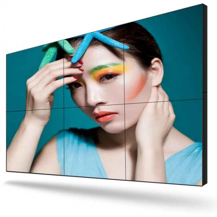 49寸液晶拼接屏尺寸規格大屏幕液晶拼接墻廠家