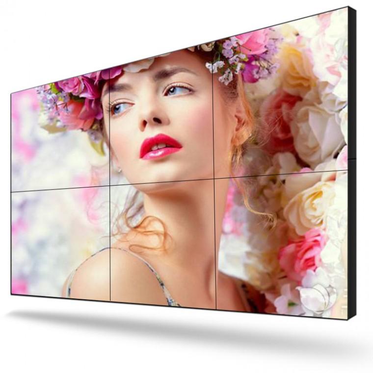 LED安防大屏幕拼接屏LCD豎屏液晶拼接屏廠家