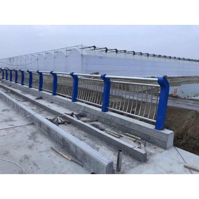 橋梁不銹鋼護欄分兩種 佛山河道防撞欄定做