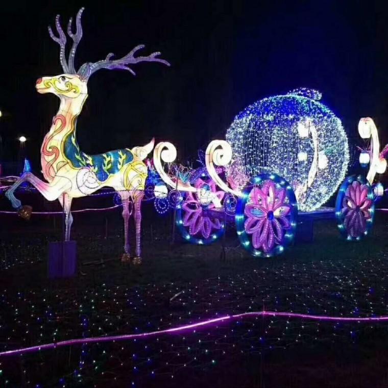 春节灯光展览活动策划梦幻灯光节策划厂家