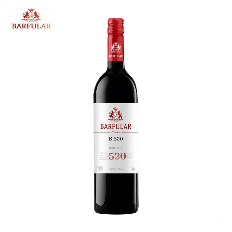 巴富樂B520 西拉干紅葡萄酒 巴富樂葡萄酒系列750ml