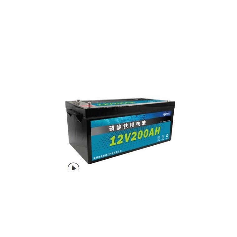 磷酸鐵鋰電池替代鉛酸12V100Ah摩托車啟動電池