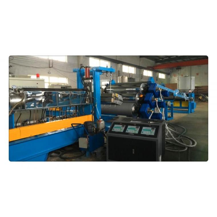 橡胶板材挤出机,橡胶板材挤出设备(图示)