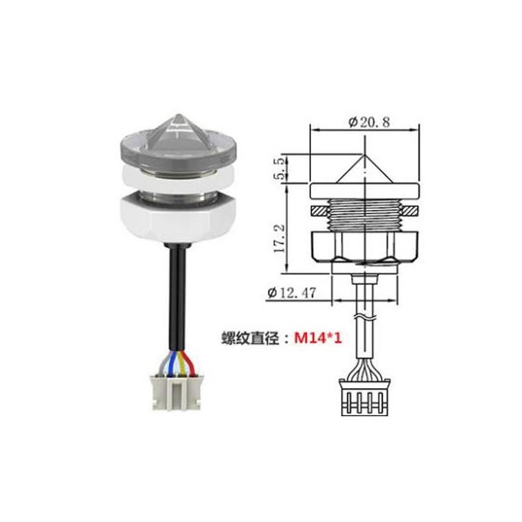 高精度小體積液位傳感器缺水保護水位開關