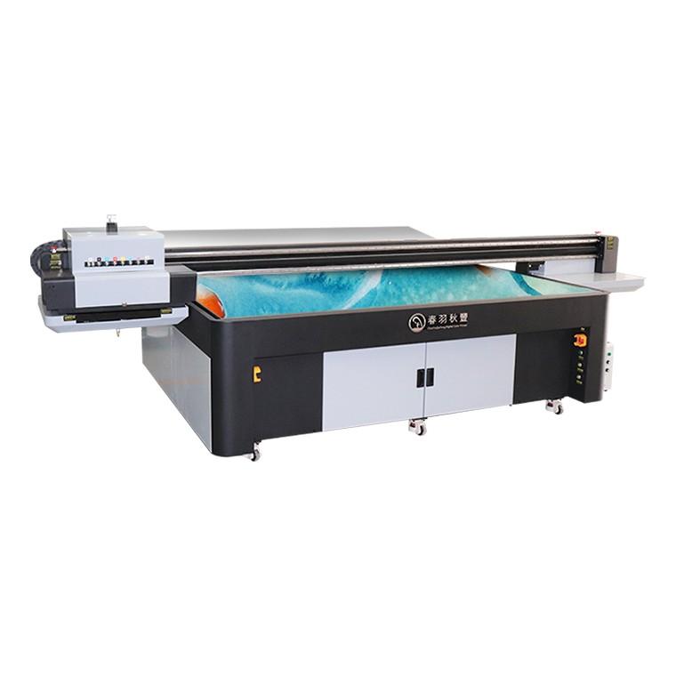 家装背景墙彩印机理光3020UV平板打印机