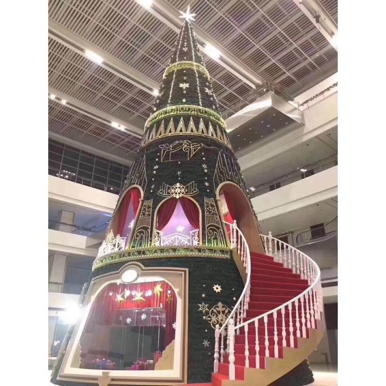 精美圣誕樹制作廠家,大型圣誕樹定制,圣誕樹出售
