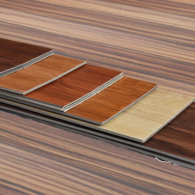 厂家直销WPC竹木碳纤维地板学校商铺可用绿色环保锁扣地板