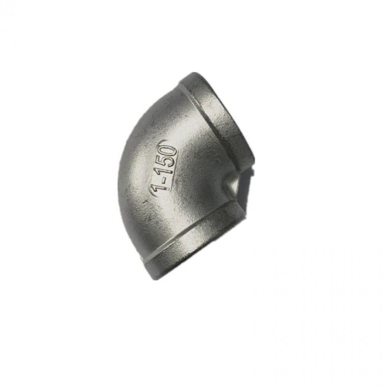 【批量供應】內螺紋90°彎頭水暖五金配件 不銹鋼五金水管配件