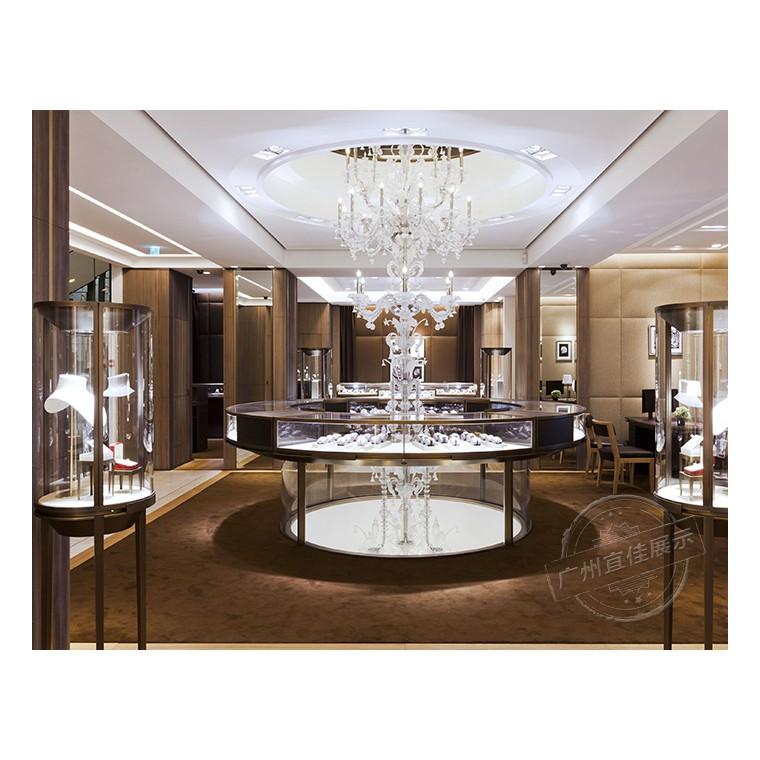 珠寶展柜的標準展柜尺寸是多少?